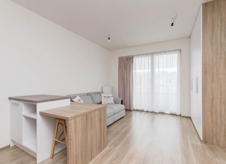 Pronájem bytu 1+kk, Praha 10